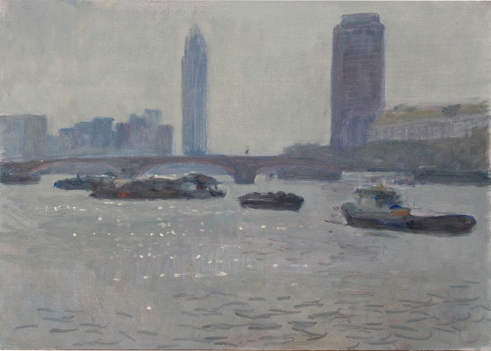 David Caldwell RP - Lambeth Bridge I