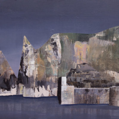 Euan McGregor - Mullion Cove Cliffs / SOLD