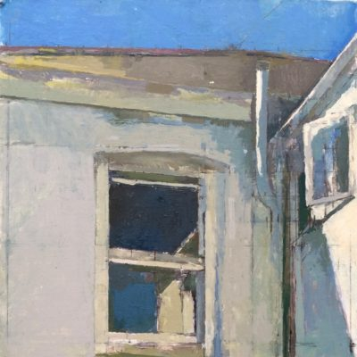 Kay Vinson-Yellow Wnidow Open Door-48x35cm