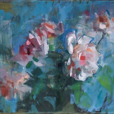 James Bland-Roses on Blue I