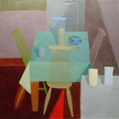 Coloured Chairs, III