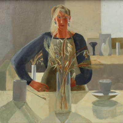 Portrait with Grasses