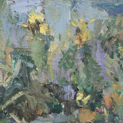 Ian Norris- Sunflower Field-45x60cm