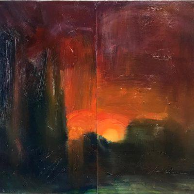 Sara Lee Roberts-Sunset-30x40cm