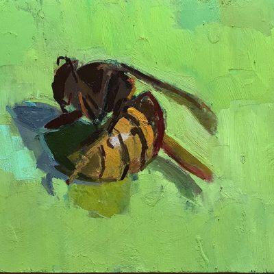 Alex Cree-Hornet-16x21cm
