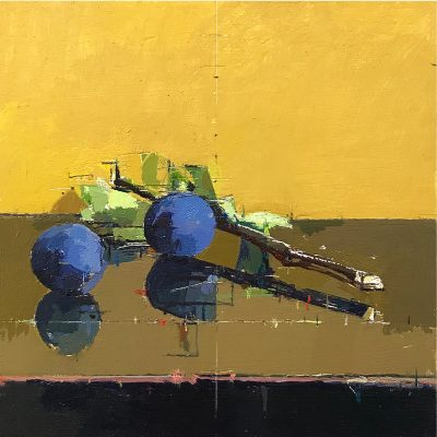 Mark Dunford-Key Plums-15x15cm