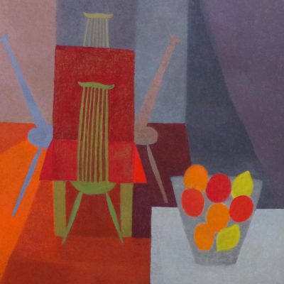 Mary Mabbutt-Warm Room-90x90cm